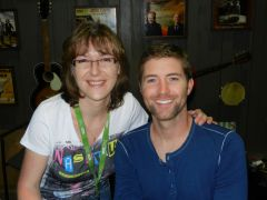 Le chanteur Josh Turner (US) & Séverine Moulin - Nashville Juin 2012