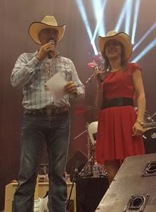 Dj Denys & Séverine Moulin - Salon Country Le Mans 5 Fev 2017